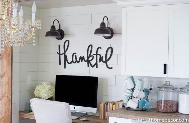 Farmhouse Pantry Overhaul on a Budget | Room Makeover | Farmhouse Design | Homework Station