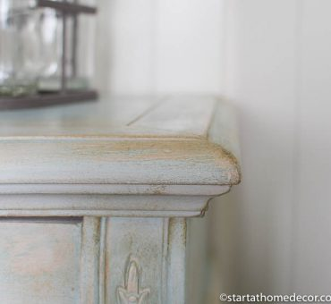 How to Distress Furniture Without Using a Sander!