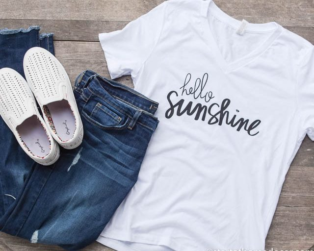 Hello Sunshine T-Shirts are HERE!!!