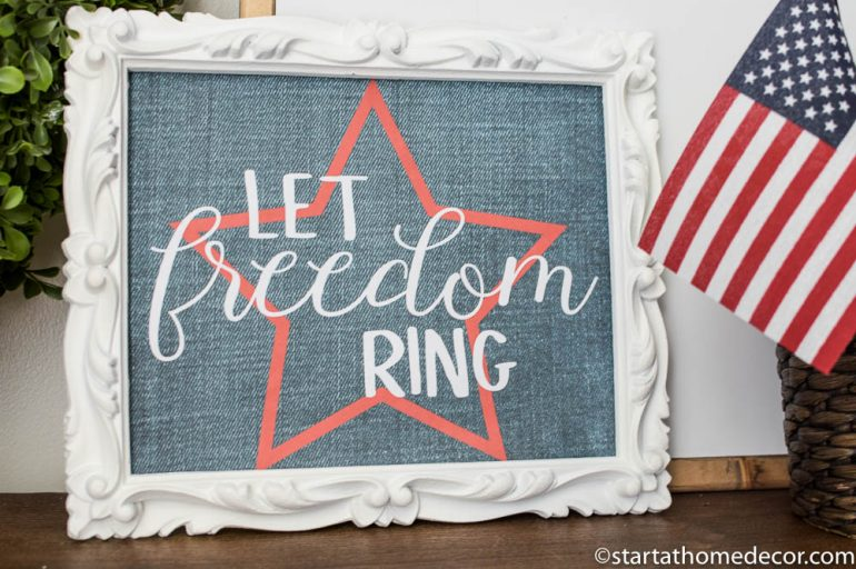 Let Freedom Ring Free Printable Start At Home Decor