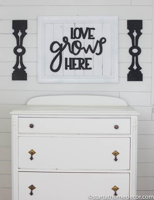 Vintage Dresser Makeover | Start at Home