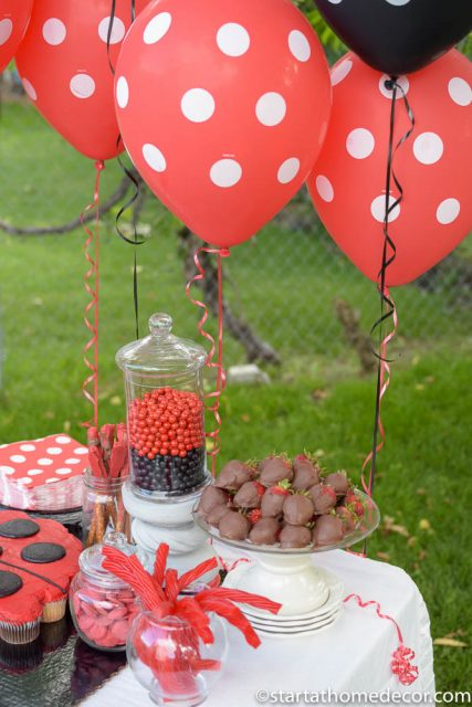 Create the Perfect Birthday Table on a Budget | Lady Bug Party