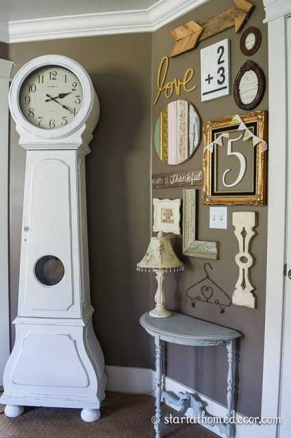 Decorating with Vintage Inspired Balusters | Wall collage