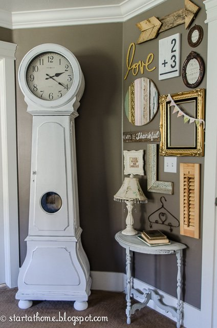 Start at home | Gallery Wall Round Up | Frames | Clock | gallery walls