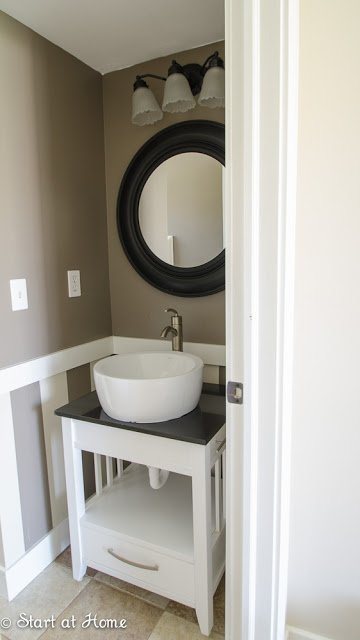 Change out your builder grade mirror