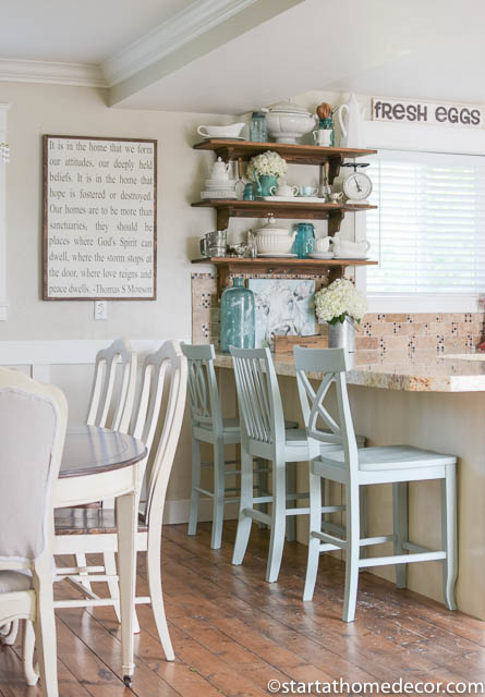 Use thrifted items to lower the cost of remodeling