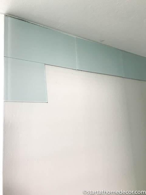 Start at Home | Bathroom Remodel | Peel and Stick Tiles | Bathroom Vanity