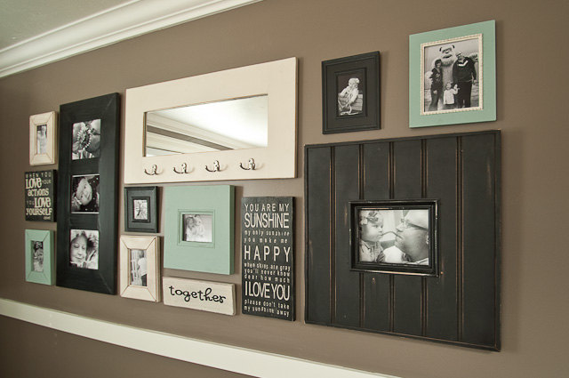 Start at home | Gallery Wall Round Up | Frames | Sayings