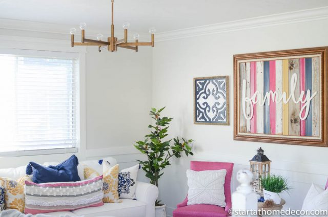 2017 DIY Home Renovations - Living Room