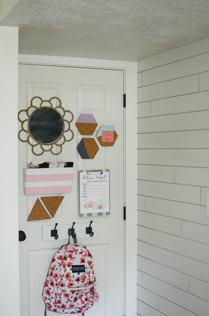 Back to school door organization