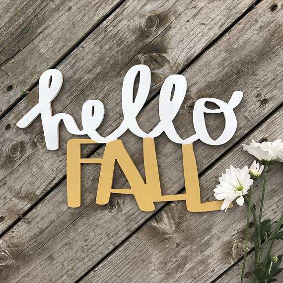 Weekly deals hello fall cutout