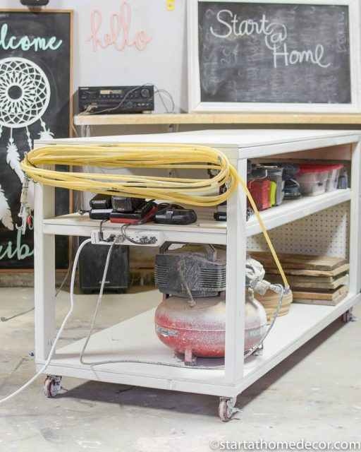 Easy DIY work bench tutorial