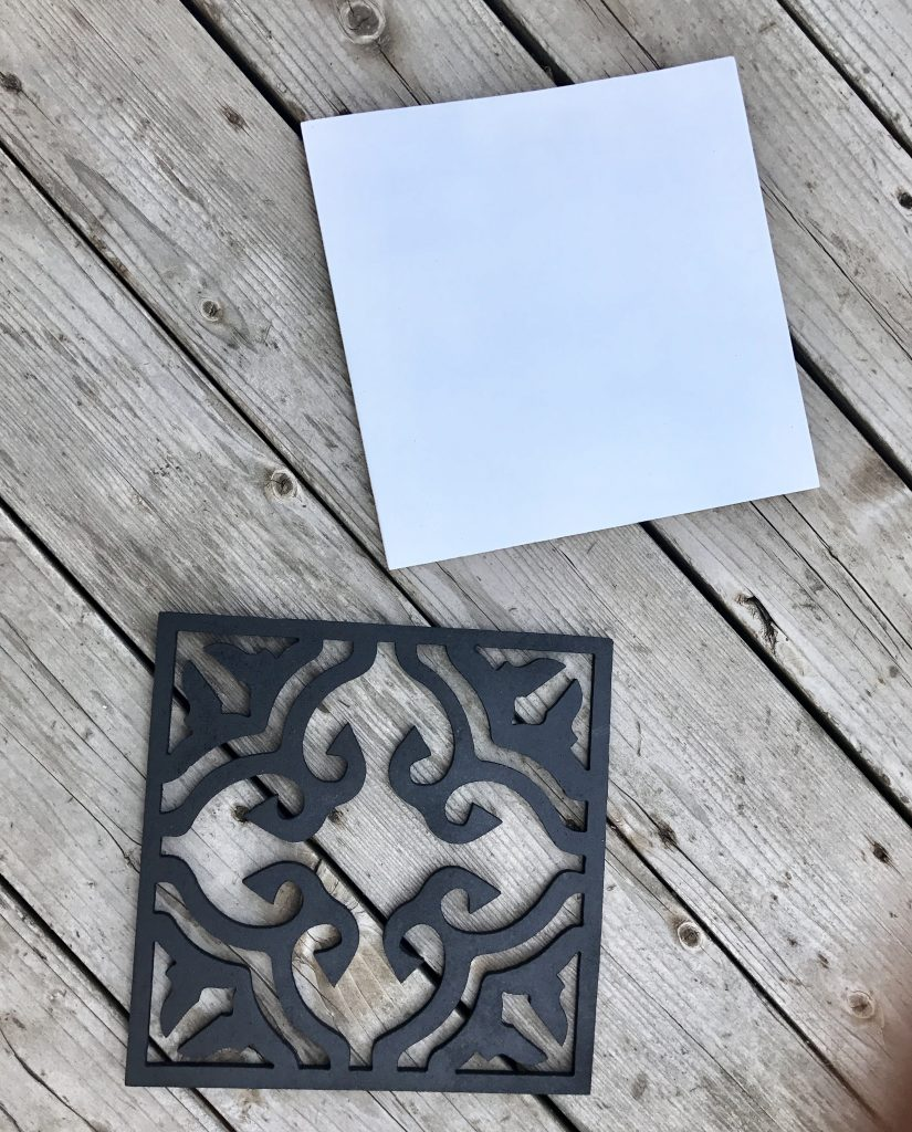 Paint your tile signs in any color combination