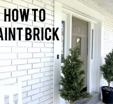 How to Paint Exterior Brick Like a Pro