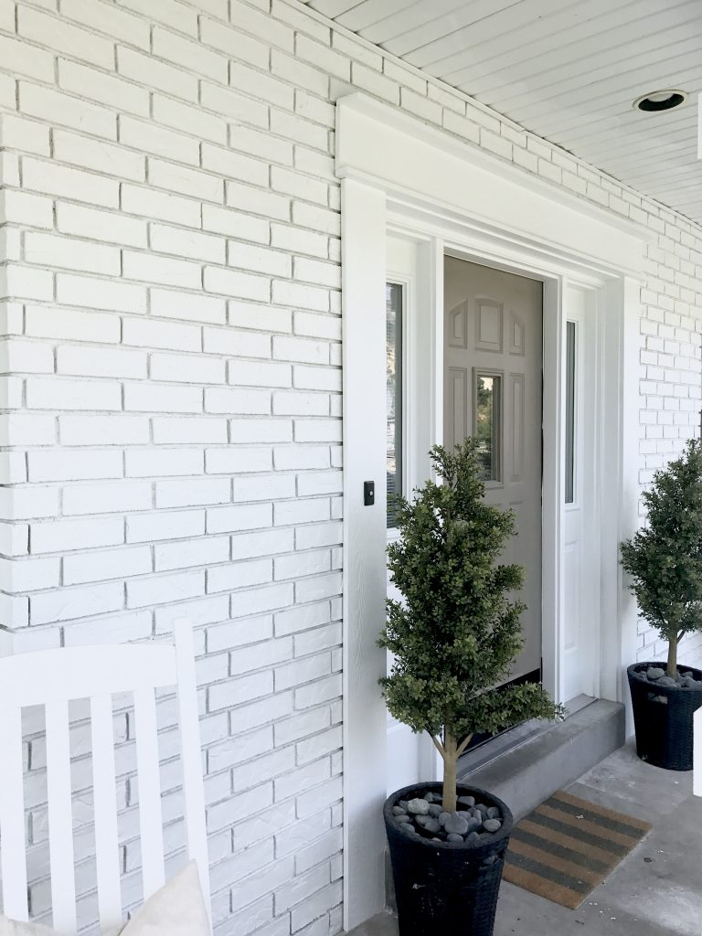 How To Paint Exterior Brick Like A Pro Start At Home Decor