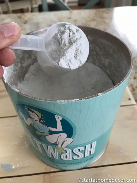 Measuring out your salt wash
