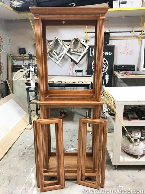 DIY Curio Refinish