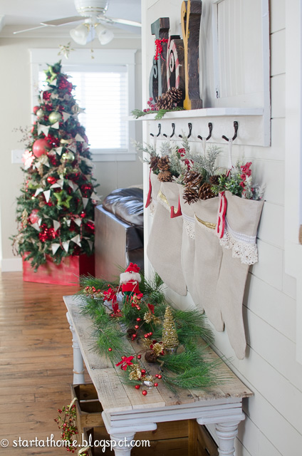 Christmas Hack: Stocking Hangers