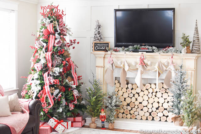My Christmas home tour - Family Room