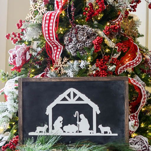 christmas signs - Christmas Decor Signs