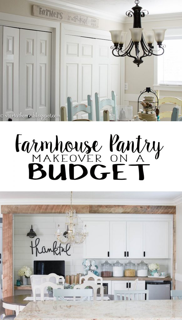 2017 DIY Home Renovations - Farmhouse Pantry