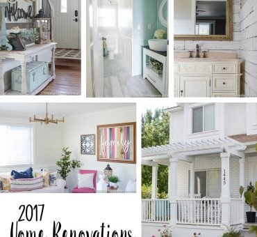 2017 DIY Home Renovations