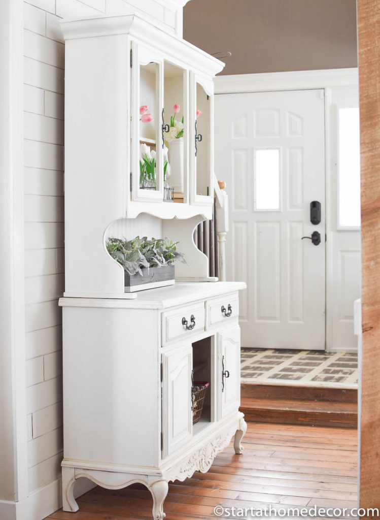 Get a smooth finish with milk paint