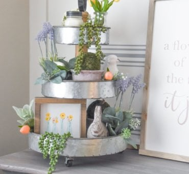 How To Create a Tiered Tray for Any Holiday