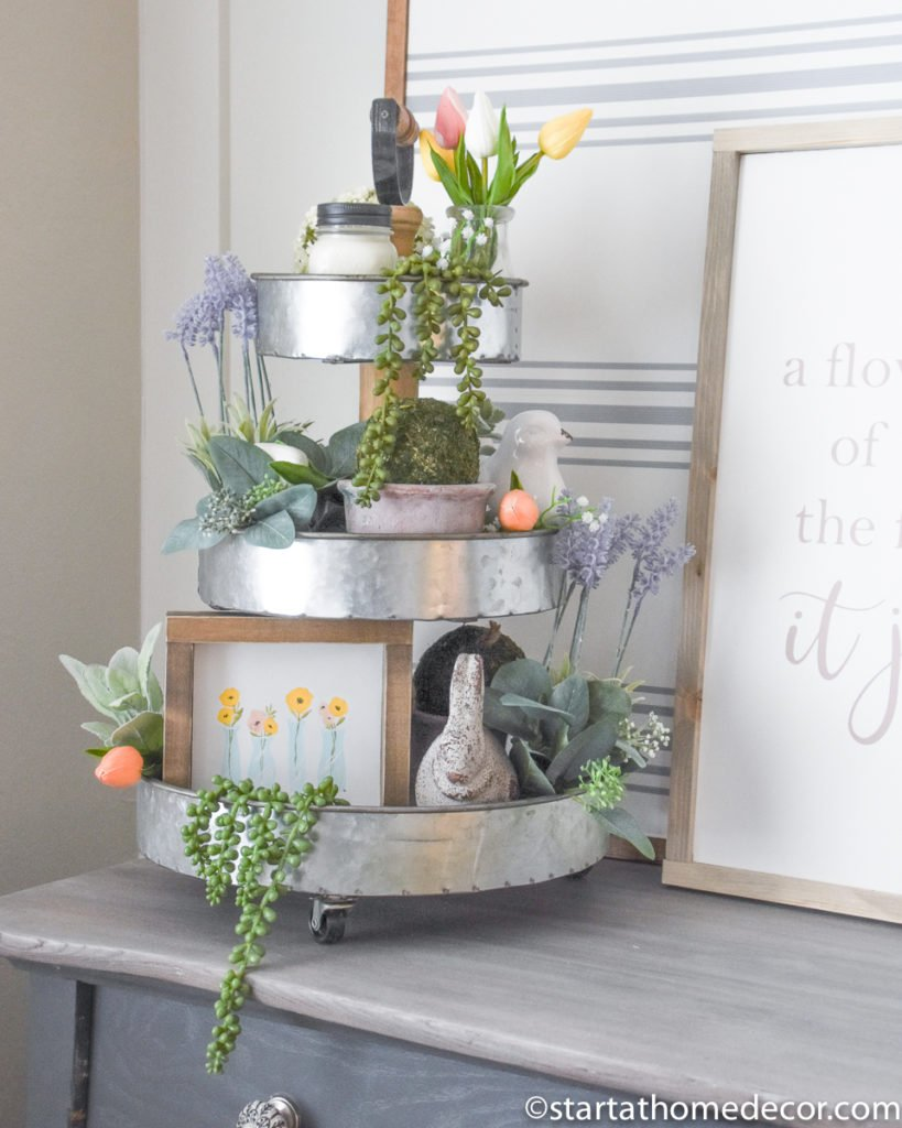 How to Create a Tiered Tray
