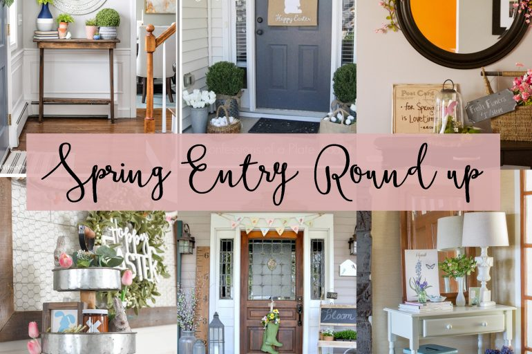 Spring Entry Decor Round Up