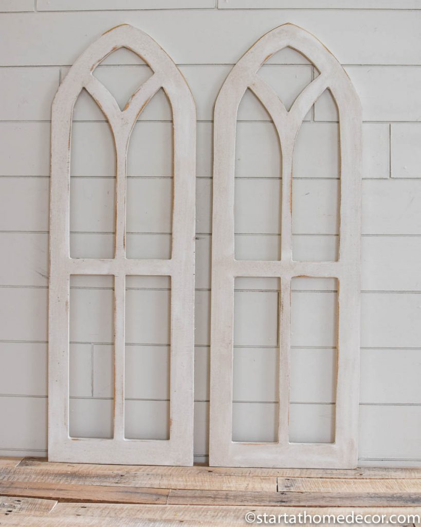 Windows and corbels cutouts