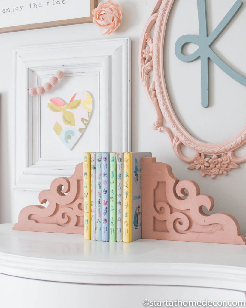 Corbels are beautiful options for bookends
