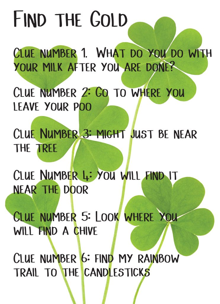 St. Patrick's Day Ideas - Hunt for the Gold