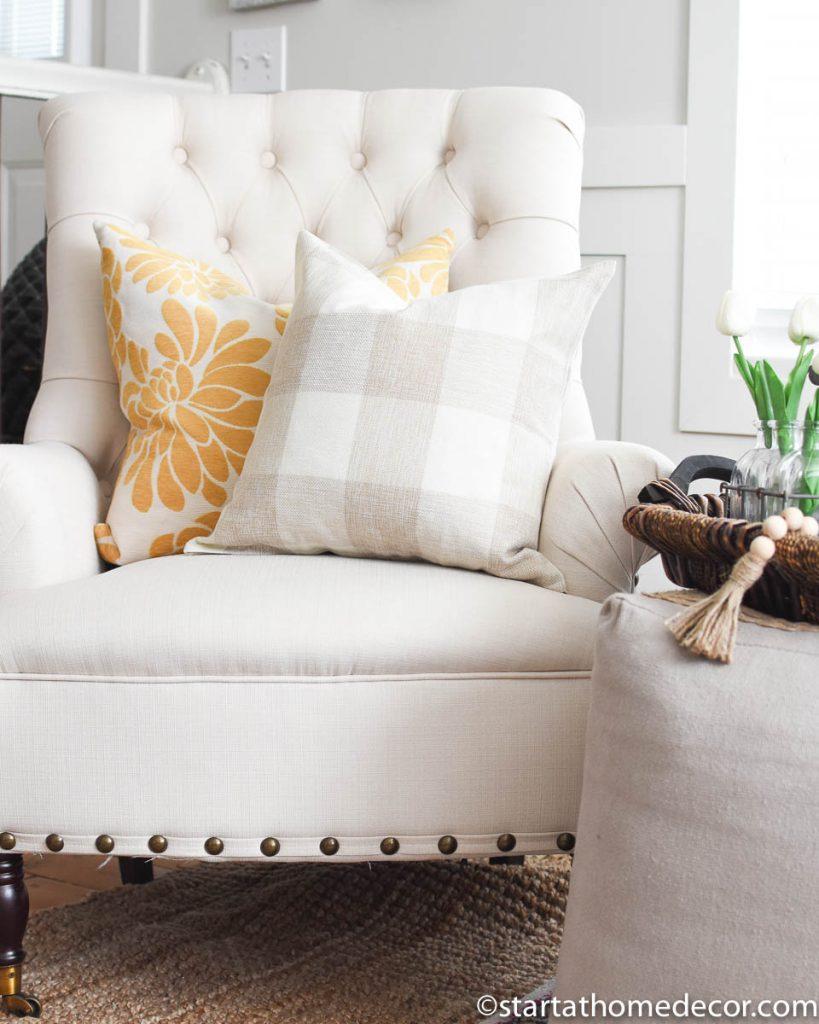 My Home Spring Decor-Toss Pillows
