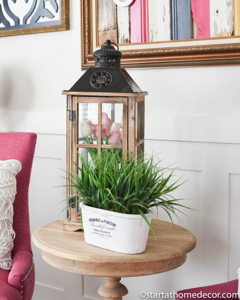 My Home Spring Decor-Lanterns