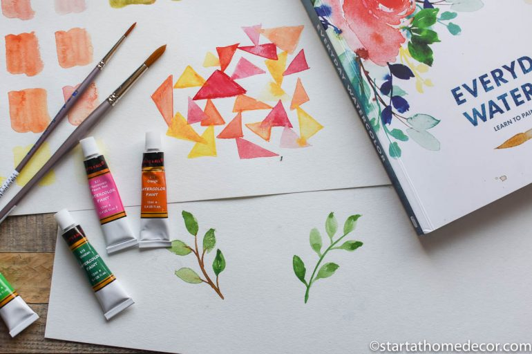 Learning to Watercolor in 30 Days