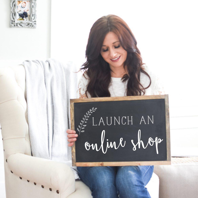 Launch an Online Shop E-Course