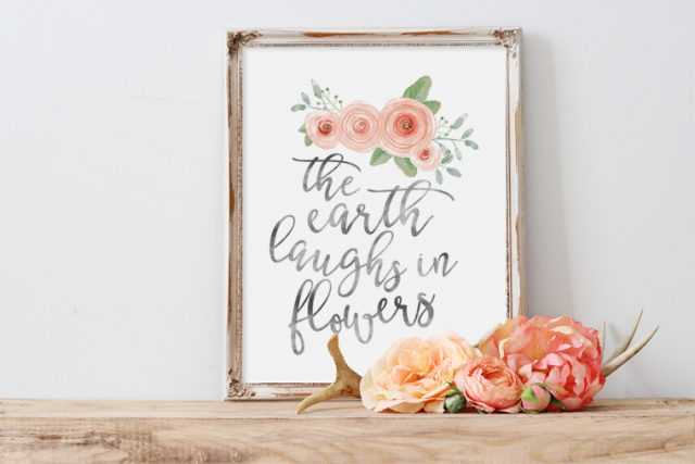 Round up of spring printables