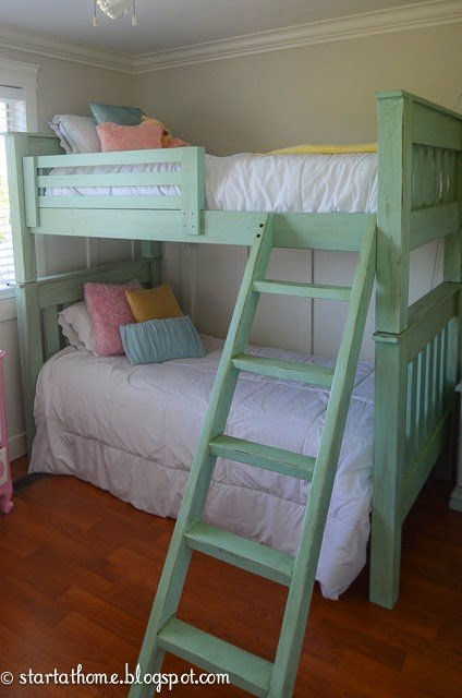 Farmhouse style furniture plans - bunk beds