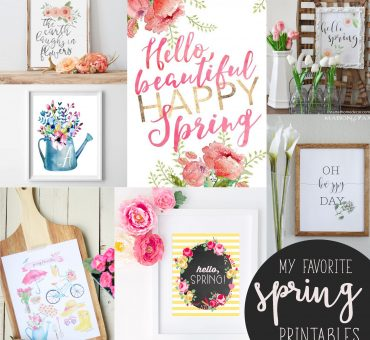 Spring Printables Round Up