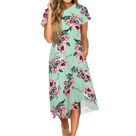affordable floral dresses for summer