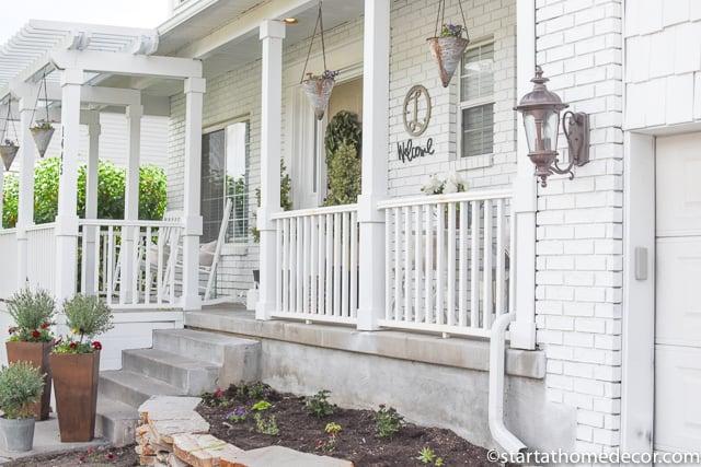 Front porch - paint a house
