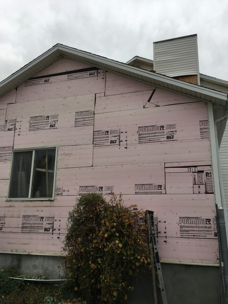 How to Paint a House- before