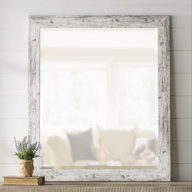 Farmhouse wall mirror