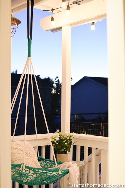 Outdoor summer patio
