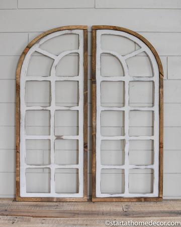 Farmhouse window -start at home