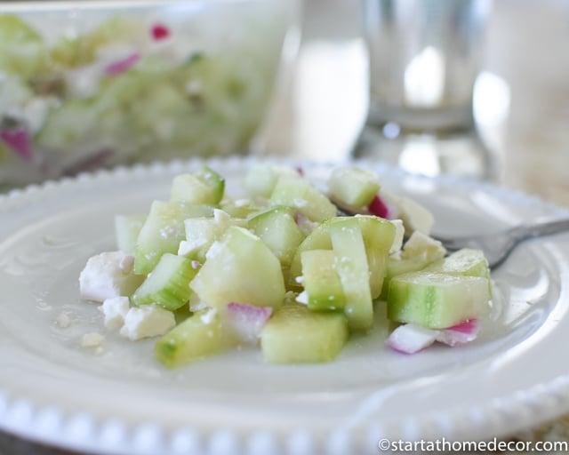 Kid Friendly Summer Snacks-Salads