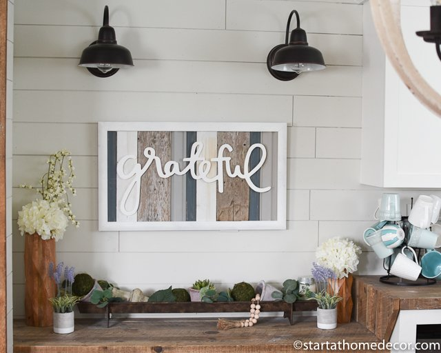 Reclaimed wood restock by Start at Home