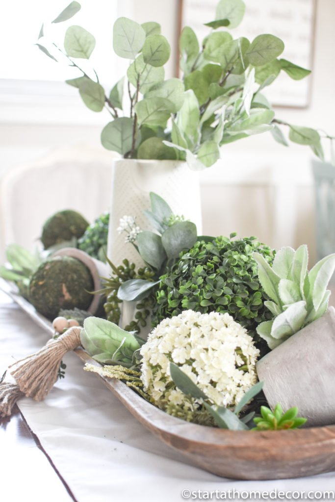 Add texture to your decor with faux plants