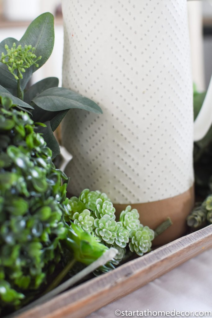 Decorating with succulents